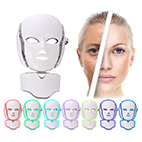 CRISS 7 COLOUR PHOTON LED FACE AND NECK MASK